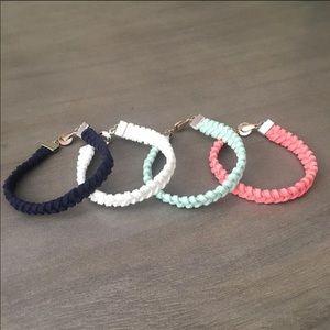 Suede Fishtail Bracelet